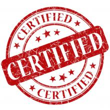Certification and standardisation